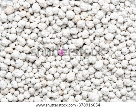 background and texture of Clean sand for cats - stock photo