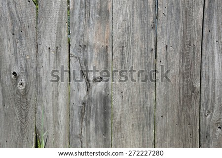 background and texture of old weathered wooden planks - stock photo