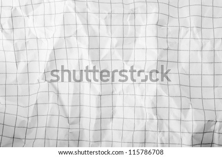 Background and texture of  paper Crumpled - stock photo