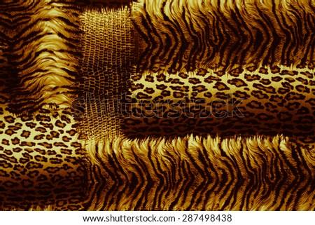 Background Bengal Tiger - stock photo