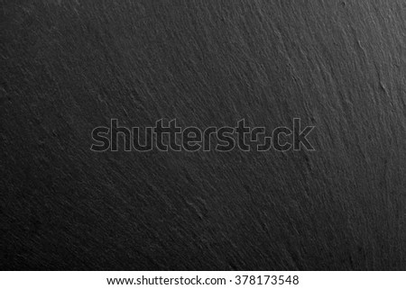 background black texture slate - stock photo