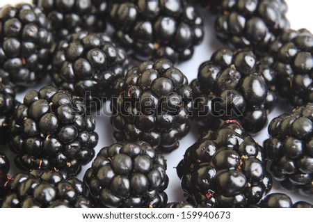 background blackberries fruits