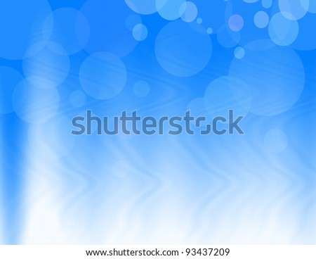 Background blue abstract - stock photo