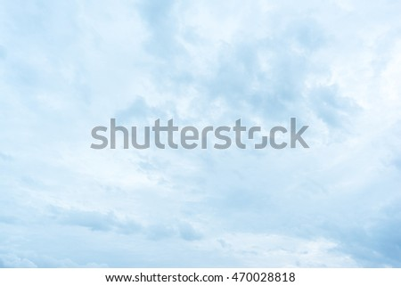 background Blue Sky and clouds