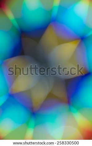 Background blur-pointed star - stock photo