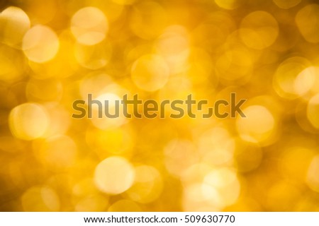 Background blur purple and gold bokeh out of focus
