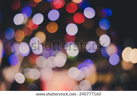 background bokeh happy New Year   lights vintage - stock photo