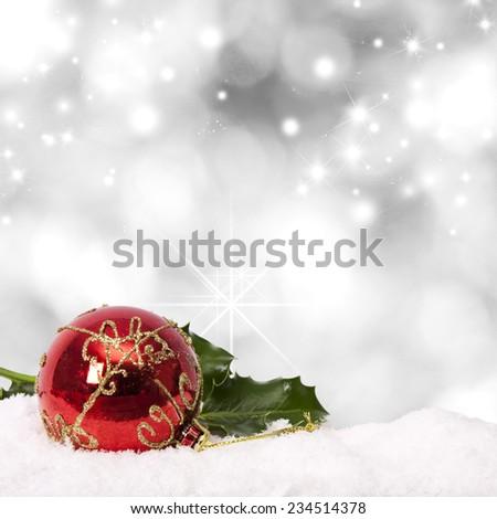 background christmas - stock photo