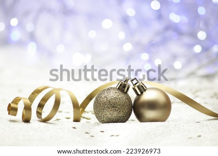 background Christmas bauble