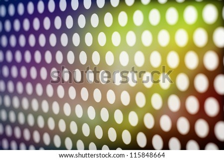 Background circles and lights - stock photo