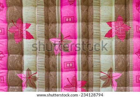 Background Close up of beautiful brown-pink corrugated sheets. - stock photo