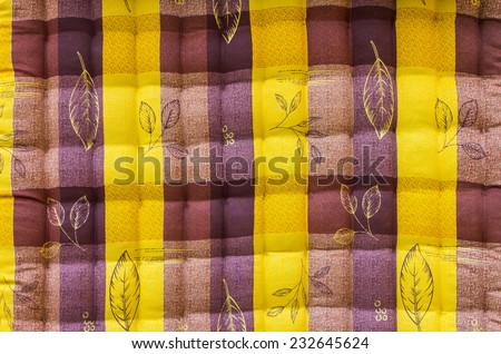 Background Close up of beautiful brown-yellow corrugated sheets. - stock photo