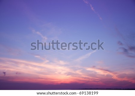 Background Clouds Fantasy - stock photo
