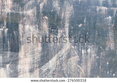 Background  colorful, corrosion metal door. Iron wall. - stock photo