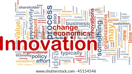 Background concept illustration of business innovation change