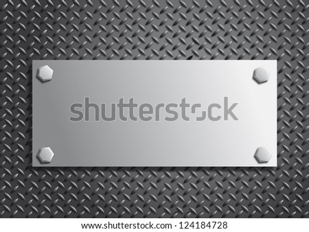 background consisting of metal - stock photo