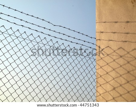 Background Design Resources Twisted Wire Fence Stock Photo (Royalty ...