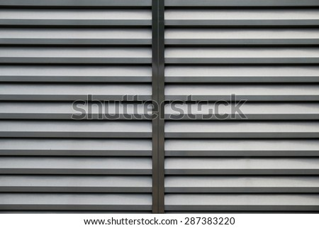 Background Detail of texture metal door Corrugated Iron Panelling