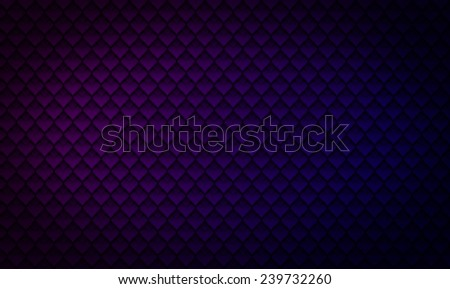 background diamond pattern dark violet - stock photo