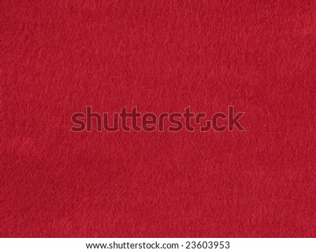 Background felt red - stock photo