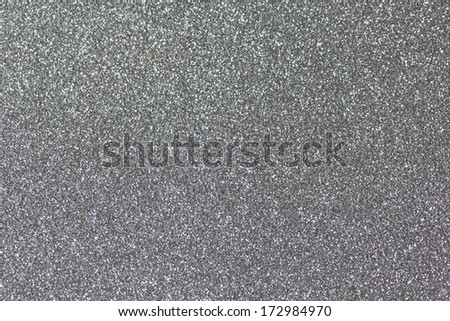 Background filled with shiny silver glitter - stock photo