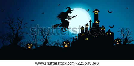Background for Halloween Celebrations