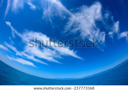 background for sea travel - stock photo