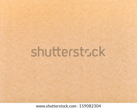background from brown packaging cardboard - stock photo