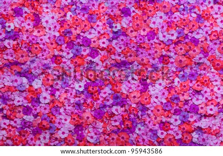 background from flowers - stock photo
