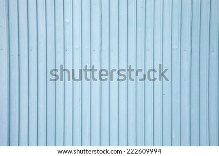 background from old light blue metal wall