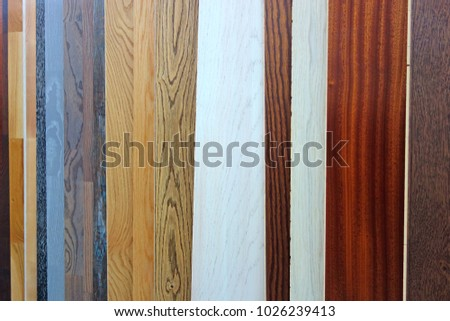 Background from samples of laminated wall panels