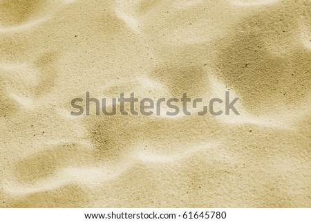 Background from sand. Desert. A beach - stock photo