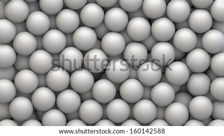 background from spheres, you can overlay your own image - stock photo