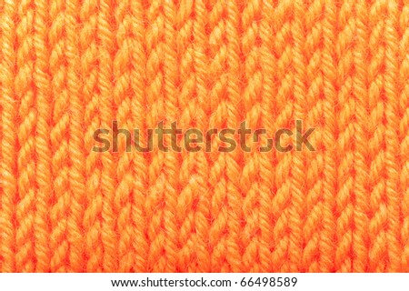 Background from the connected woolen cloth - stock photo