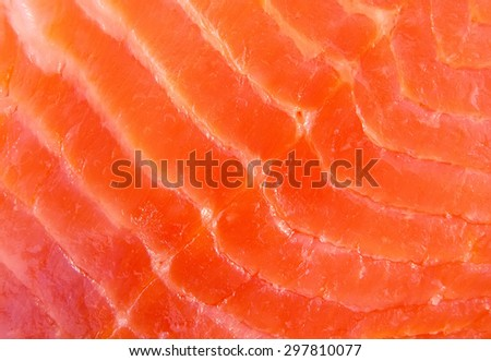 Background from the salted salmon