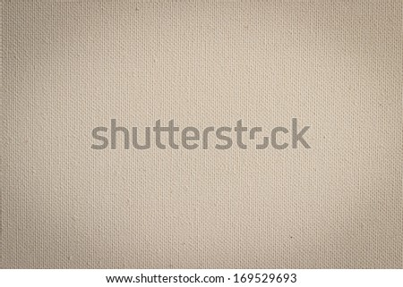 Background from white coarse canvas texture. Clean background.