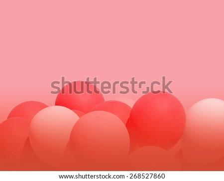 Background gradient  balloons - stock photo