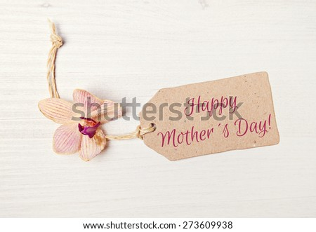 background - greeting card - happy mothers day - stock photo