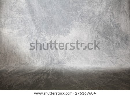 Background ( grey fabric)