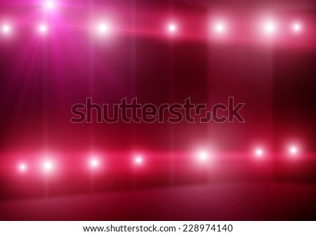Background image of colorful stage lights and beams