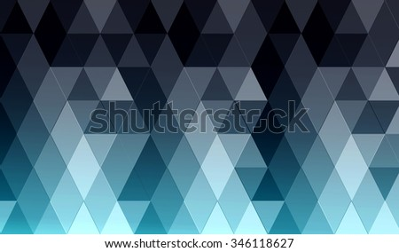 background in a diamond and triangle
