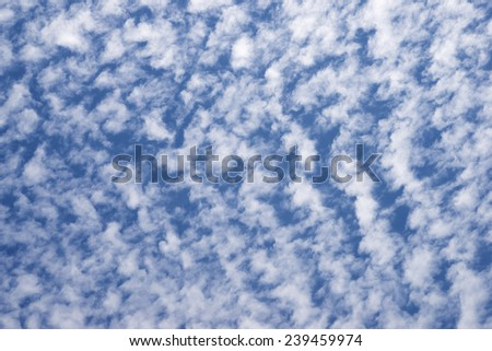 background in high resolution created with sky detail - stock photo