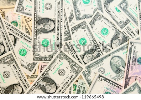 Background. It is a lot of money (dollars). - stock photo