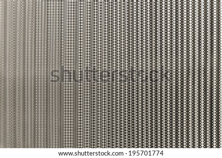 Background kinetic and optical effect with perspective and geometric black and white  - stock photo