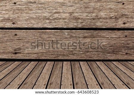 Background made from old wood