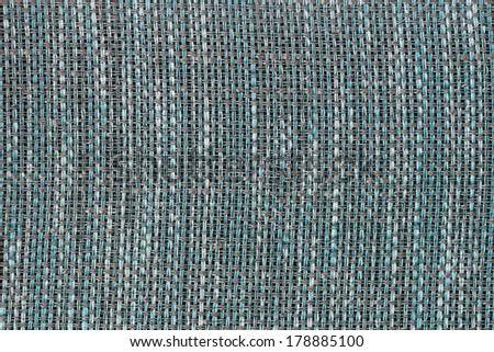 Background made of a closeup of a blue fabric texture - stock photo