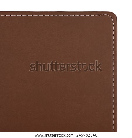 Background made of brown fabric cover