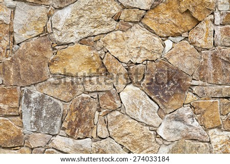 Background made of natural broken sand stone parts - stock photo