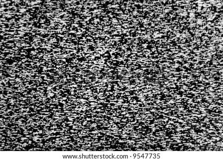 Background made of real TV noise (classic) - stock photo