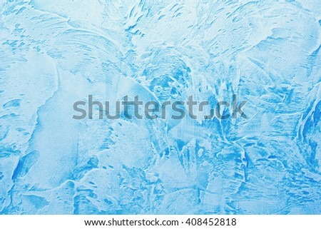 background made with a texture of a blue wall - stock photo